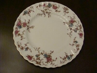 MINTON ANCESTRAL Pattern Luncheon Plates Beautiful Colors