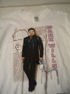 Vintage Mark Wills 1999 Permanently Tour T-Shirt - 80's - 90's Country Music