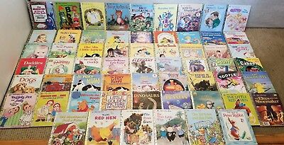 Lot of 60 Little Golden Books Vintage/classics & Newer, all in VGUC