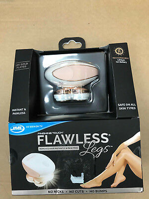 JML Flawless Legs 18K plated rechargable leg shaver New