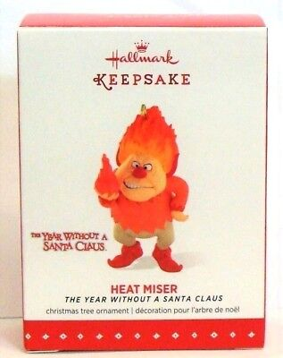 2015 Hallmark Heat Miser Christmas Tree Ornament The Year Without a Santa Claus