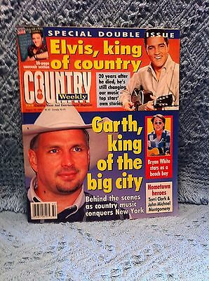 Nos 8/12/97 Elvis Country Weekly Special Double Issue Elvis, King Of Country