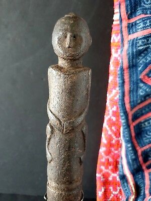 Old Borneo Dayak Tribal Carving on Custom Stand  …beautiful collection item
