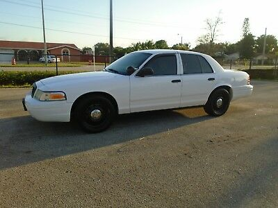 2008 Ford Crown Victoria  2008 FORD CROWN VICTORIA POLICE INTERCEPTOR ONE OWNER 4.6 V8