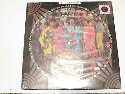 The Beatles-Sgt Peppers Lonely Hearts Club Band-Picture Disc In Shrinkwrap