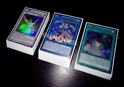 Yugioh Complete Nekroz Deck + Ultra Pro Sleeves! Tournament Ready! Links! Holos!