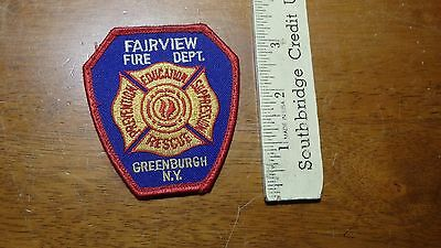 Vintage  Fairview  Fire Department  Greenburgh New York Patch  Bx 11 #26