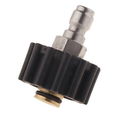 """1/4"""" High Pressure Washer Spray Nozzle Tips Multiple Degrees 15 Rod"""