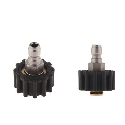 2Pcs High Pressure Washer Spray Nozzle Tips Multiple Degrees