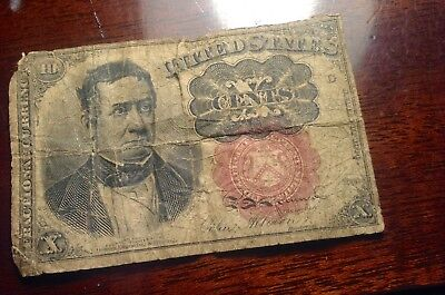 FRACTIONAL CURRENCY NOTE 10cents