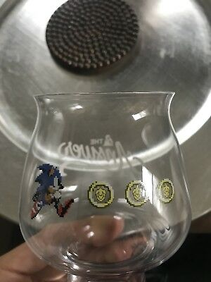 The Answer Brewpub Sonic the Hedgehog Glass - Chasing Rings - New/Unused