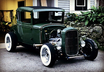 1931 Ford Model A  1931 Ford Model A Coupe Unchopped Hot Rod