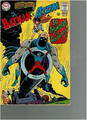 Brave and the Bold 77 Batman and The Atom F+