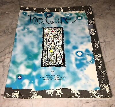 The Cure Ten Imaginary Years by Robert Smith Steve Sutherland 1988 Zomba UK ONLY