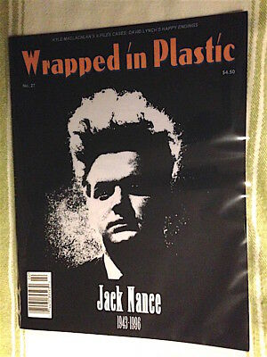 WOW 'WRAPPED in PLASTIC' magazine #27 JACK NANCE memorial TWIN PEAKS