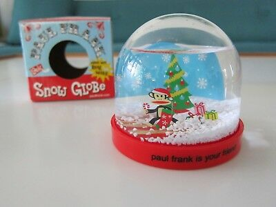 Paul Frank is Your Friend Snow Globe - Holiday Gift! Cute Stocking Stuffer!