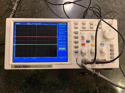 Owon PDS5022T Dual Channel Digital Storage Oscilloscope 25MHz 100MS/s Excellent