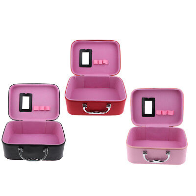 Makeup Train Storage Bag Case Jewelry Box Cosmetic Organizer for Travel