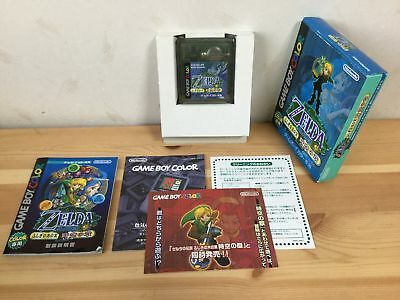 Used  The Legend of Zelda Oracle of Ages w/Box Manual Japanese Game Boy Color