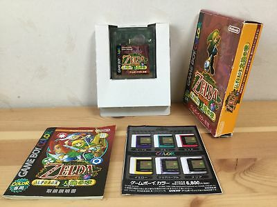 Used  The Legend of Zelda Oracle of Seasons w/Box Manual Japanese Game Boy Color