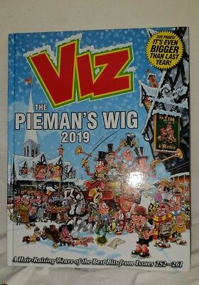 Viz The Pieman's Wig 2019 Annual - Double Signed With Drawings - New -