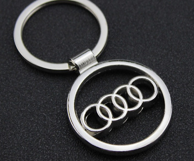 2019  sale Audi Key Chain Car Logo Keyring Pendant Ring Accessories Keychain
