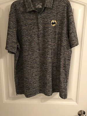 BUFFALO WILD WINGS athletic under armour polo shirt XL Grill & Bar embroidery *G