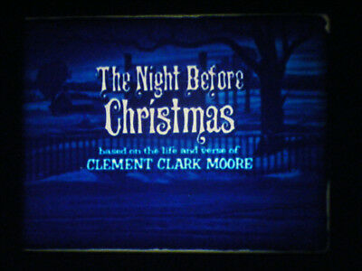 "16Mm Film-""the Night Before Christmas""-1968 Tv Special-Playhouse Pictures"