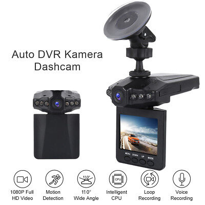 "2.5"" HD 1080P Car DVR Dash Camera Vehicle Video Recorder Dash Cam Night Vision"