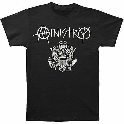 Shirt Ufficiale Ministry Nera Licenza Uomo Band Seal Great T Metal 9E2IYHWD