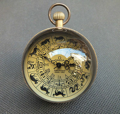 Zodiac Mechanical Crystal Ball-Shaped Clocks And Watches