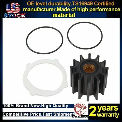 Raw Sea Water Pump Impeller Repair Kit For Johnson 09-812B-1 Yanmar 119773-42600