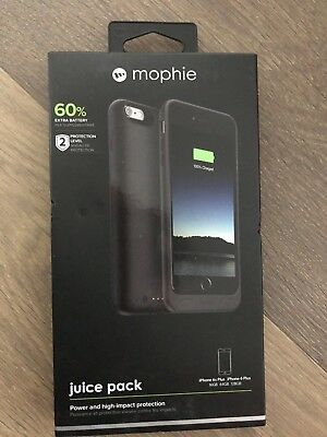 Mophie Juice Pack Battery Case for iPhone 6 Plus/ iPhone 6s Plus 2600mAh NEW