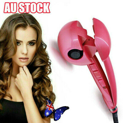 Ceramic Titanium Hair Crimper Crimping Perm Slipnt Waver Curler Wet Curling Iron