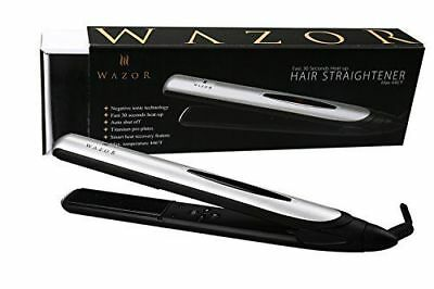 Wazor Hair Flat Iron 1 Inch Ionic Ceramic Hair Straightener Professional Flat Ir