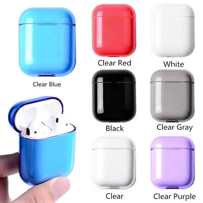 Transparent TPU AirPods Case Protective Skin Charger Case For Apple Accessorie