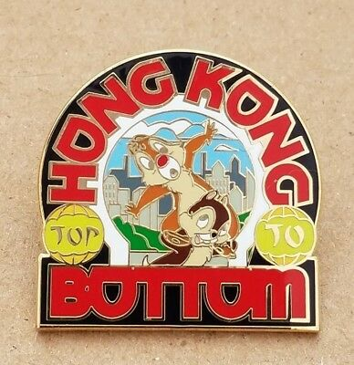 ADVENTURES BY DISNEY CHIP & DALE - HONG KONG Pin
