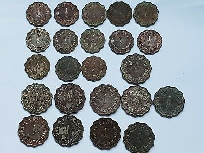 Superb Lot Of 23 Curly Piastre Very Interest.