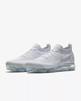 NIKE AIR VaporMax Flyknit 2.0 2018  MEN (white ) Running Trainers Shoes