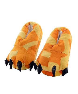 Unisex Animal Cosplay Costume Flannel Adults Giraffe Slippers US Size 5-10.5