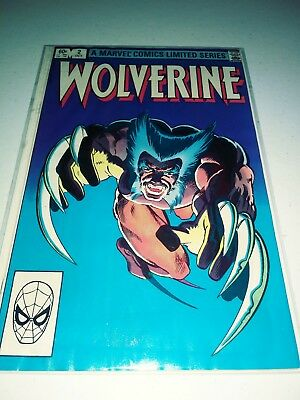 Wolverine Limited Series 1 #2 (1982) VF/NM? Marvel Comics Frank Miller art 2 4