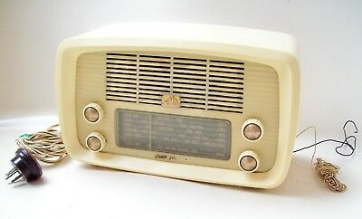 Hmv  Little Nipper Tube Radio Can See Working