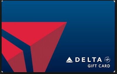 $50 Delta Airlines Gift Card