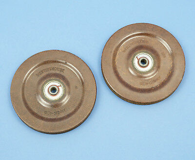 "2 Westinghouse 3.5"" Diameter Aircraft Pulleys An-210-4B Aviation Control Cable"