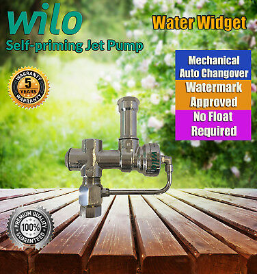 Wilo Water Widget - Auto tank water to mains switch - Mechanically Activated