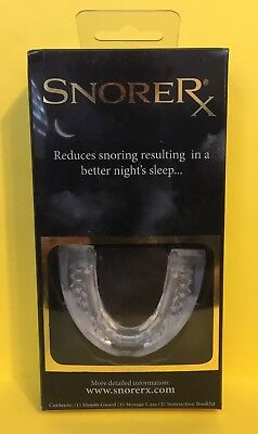 SnoreRx - Anti-Snore Mouthpiece - Brand New - Factory Sealed