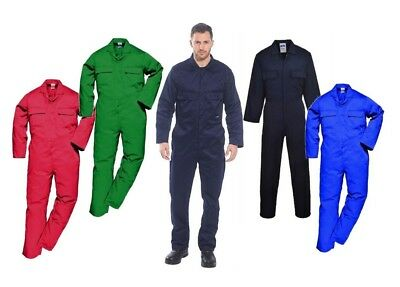 Portwest Euro Work Coverall Mechanic Welder Suit Poly-cotton Work Wear S999