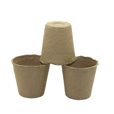 10 Pcs Greenhouse Plant Biodegradable Cultivate Cups Nursery Seedling Grow Pots
