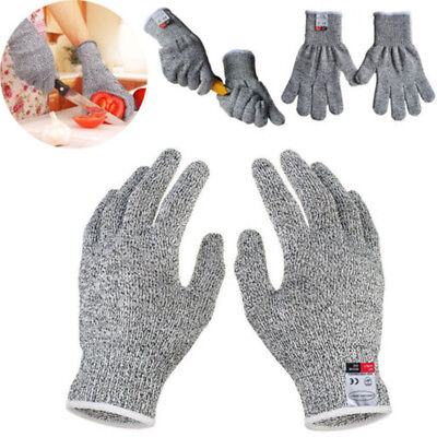 Cut Resistant Gloves  Kitchen Butcher Protection Anti-Cutting Food Grade Level 5