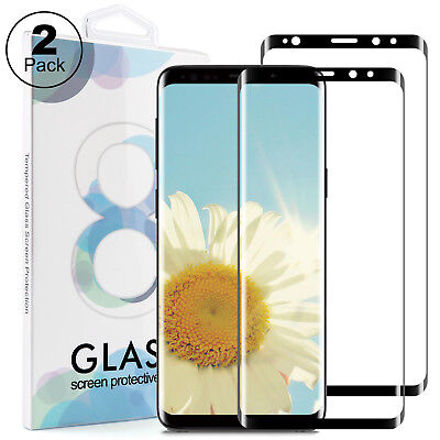 2x 3D Schutzglas für Samsung Galaxy S9 Panzerfolie Full Screen Display Hart Glas